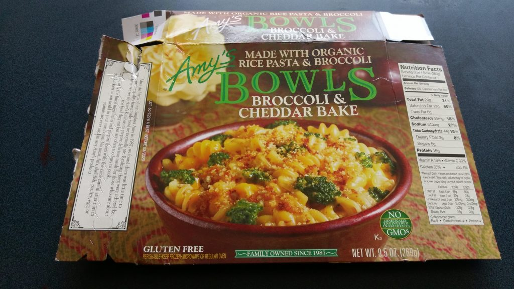 Are Amy S Frozen Foods Processed