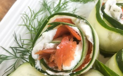 Smoked Salmon and Cucumber Appetizers