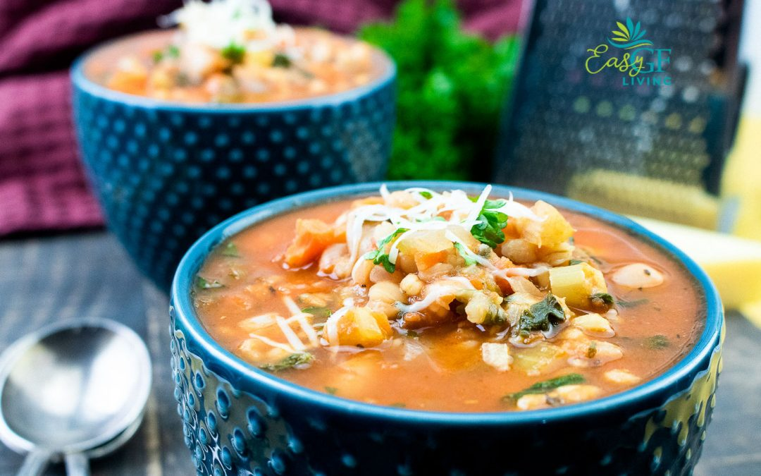 Gluten-Free Minestrone Soup with White Beans