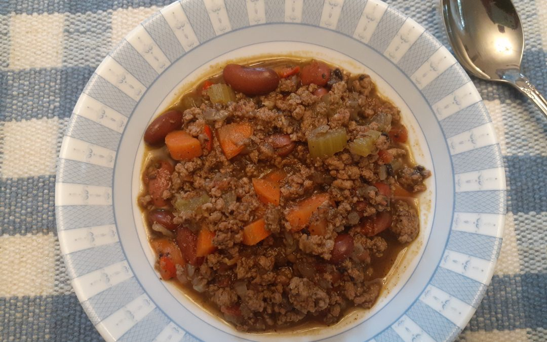 Recipe-Healthy Beef Chili