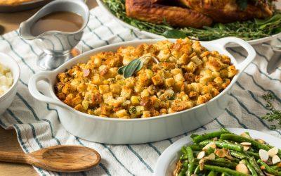 Classic Gluten-Free Thanksgiving Bread Stuffing