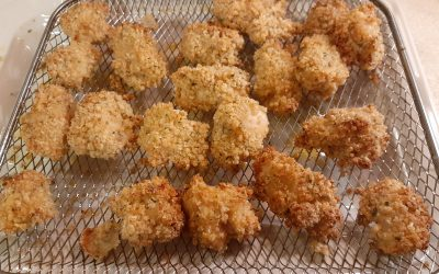 The Best Air Fried Gluten-Free Chicken Nuggets